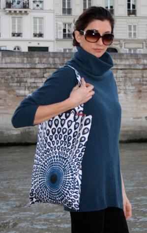 Blue Eye Tribal bag