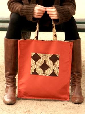 New York designer Kasia Dietz - Brown Braid Bag