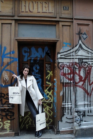 New York designer Kasia Dietz - Rive Bag