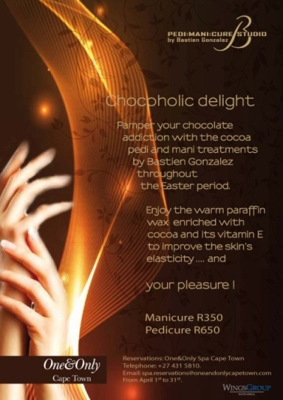 Bastien Gonzalez Mani: Pedi: Cure at the One&Only Spa in Cape Town