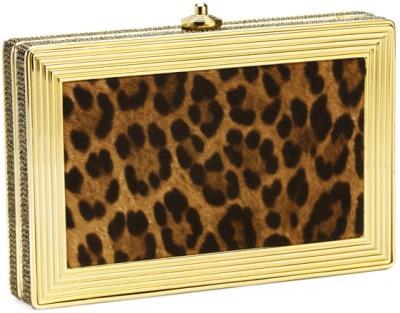 Fall Winter Leiber Leopard Clutch Handbag
