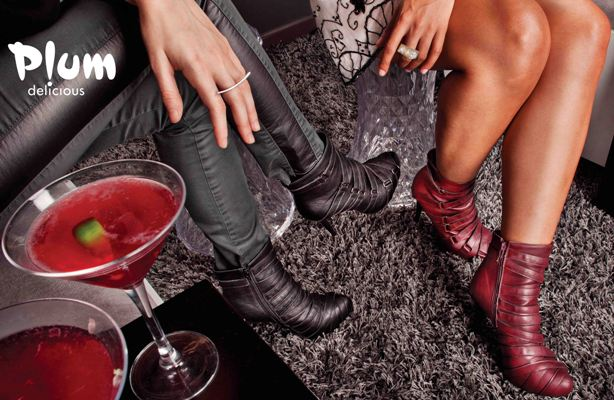 WIN A PAIR OF BLACK ALAINA BOOTIES BY PLUM DELICIOUS