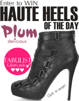 WIN A PAIR OF GORGEOUS ALAINA BOOTIES FROM PLUM DELICIOUS