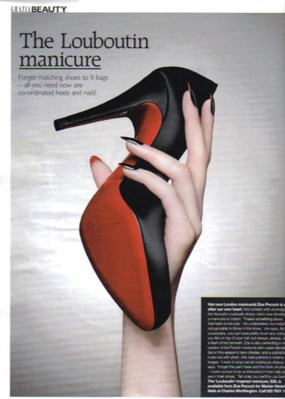 The Louboutin Manicure