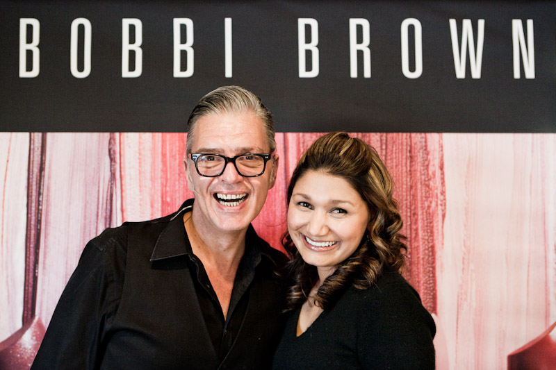 Make-up School with Bobbi Brown's EDUARDO FERREIRA