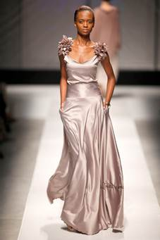 Dress by Rubicon. SA Fashion Week Summer 2011 Collections.