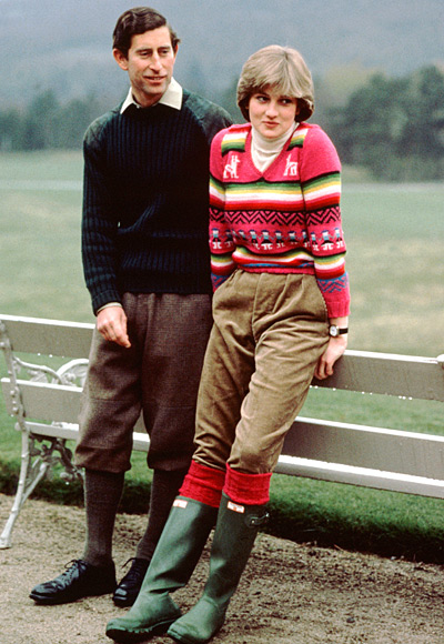 Hunter Boots - Fit for a princess [Princess Diana in Hunter Boots]