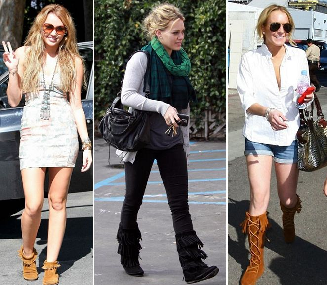 Celebrities Wearing Moccasins - Pinterest