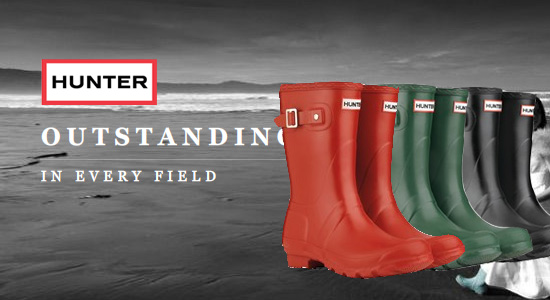 WIN one of Three pairs of the new HUNTER Short Boots