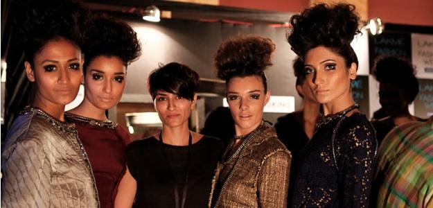 Backstage with Drashta at Lakme Fashion Week