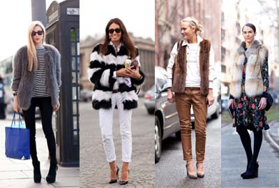Fashion Trends   How To Wear Faux Fur