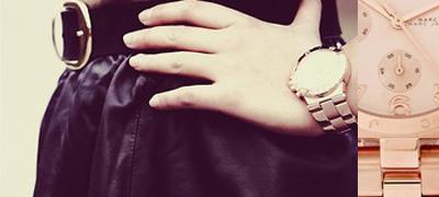 Trend Alert   Rose Gold Watch
