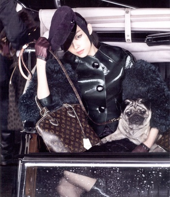 Louis Vuitton Ad Campaign 2011 | Pug Loving