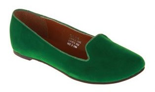ZOOM Melany Flats Emerald Green