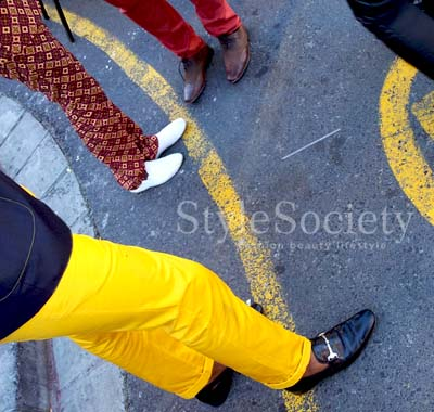 Bright menswear | Street Style | Mercedes-Benz Fashion Week Cape Town | Day 4