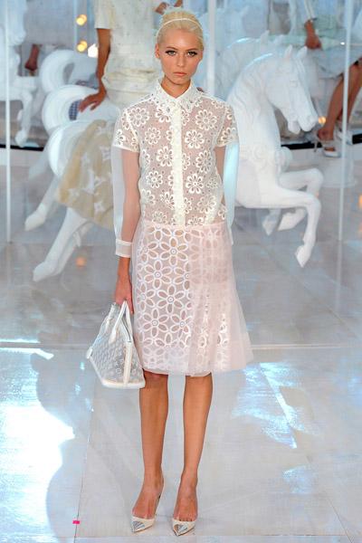 Louis Vuitton Spring 2012 | Metal Cap Pointy Heels