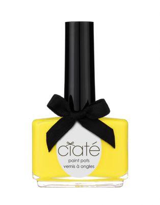 Ciaté Big Yellow Taxi Créme Nail Polish | Haute Colour | Canary Yellow