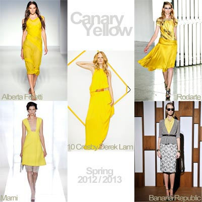On the Ramps | Haute Colour | Canary Yellow