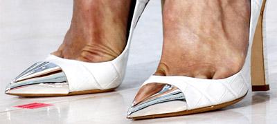 Haute Heels | Metal Cap Pointy Heels