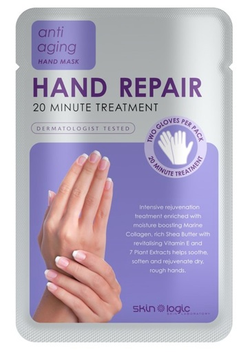 Beauty Review   Skin Logic Hand Repair Hand Masks