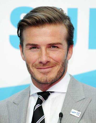 David Beckham   Mens Hair Trend   Side Path