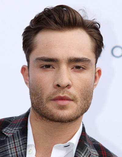 Ed Westwick | Mens Hair Trend | Side Path