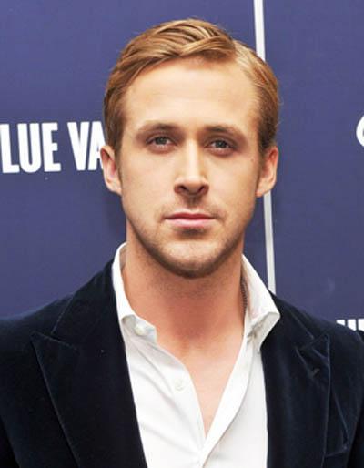 Ryan Gosling   Mens Hair Trend   Side Path