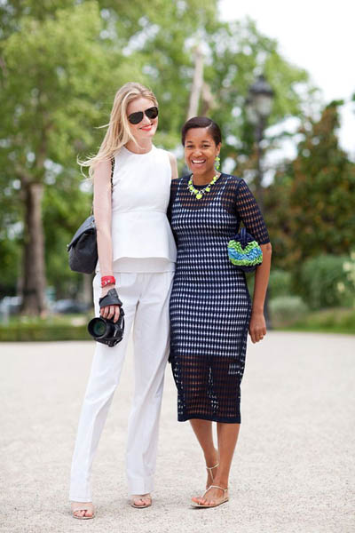 Peplum Power | Trend Alert | Street Style | All White Outfit
