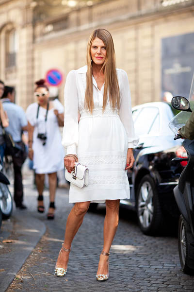 Feminine and Flirty | Trend Alert | Street Style | All White Outfit