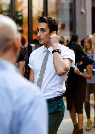 Oregano | Men's Street Style | A new Gentleman is in Town by Aramis