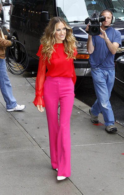 Sarah Jessica Parker | Pink and Red | Break the Rules