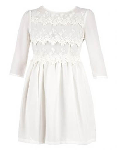White Lace Dress | Sass | R999 | Trend Alert | All White Outfit