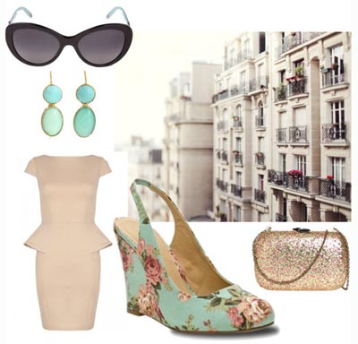 Blossoming City Living   3 Ways to Wear Floral Wedges