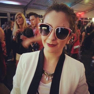 Sunglass Hut OTB | Im wearing the Prada Cateye Retro Sunnies