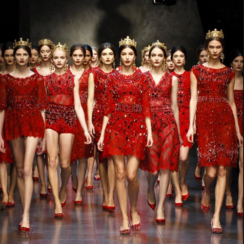 Dolce and Gabbana Mosaic Collection - Fall Winter 2014