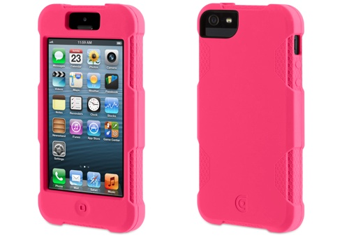 Pink Protector cases for iPhone 5