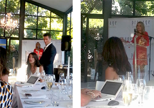 Answering some difficult questions at the Prevage Launch