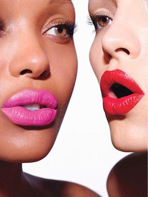 Trending Hot Pink Lips