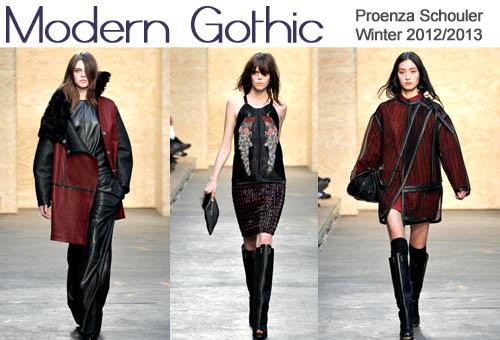 Proenza Schouler Winter 2012-2013 Modern Gothic