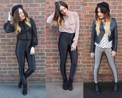 Street Trend   Disco Pants   Blogger Street Style
