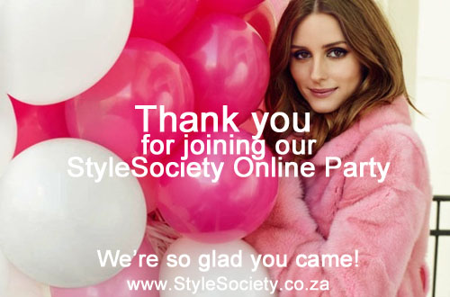 Thank You for joining our Online Party