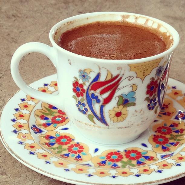 Turkish Coffee at Topkapı Palace