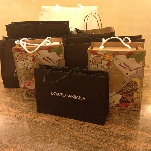 It's been a long hard day of shopping #DubaiMall #Dubai #UAE
