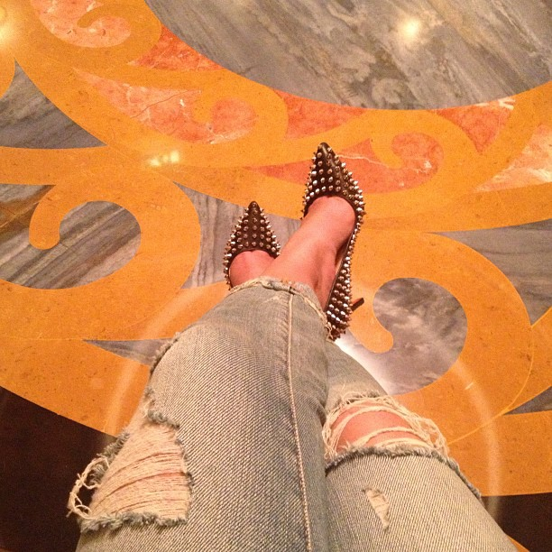 Christian Louboutins - Love me some Red bottoms