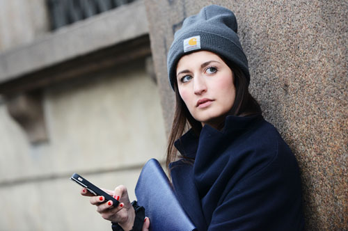 International Street Style Trend Spotter | Beanie in Milan