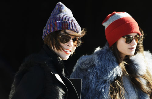 International Street Style Trend Spotter | Beanie in New York