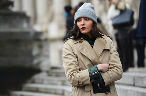 International Street Style Trend Spotter | Beanie in Paris