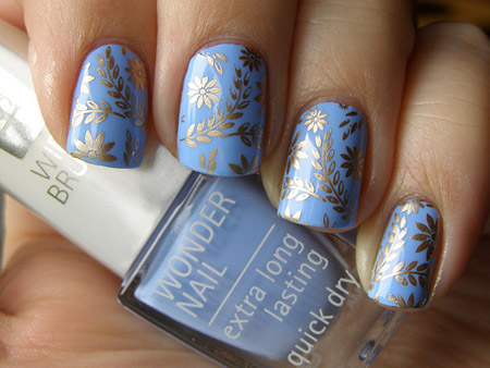 Periwinkle for the nail lovers