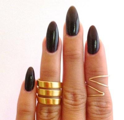 Pointy Stiletto Nails