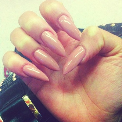 Haute Nail Trends | Pointy Stiletto Nails | StyleSociety™ Fashion ...